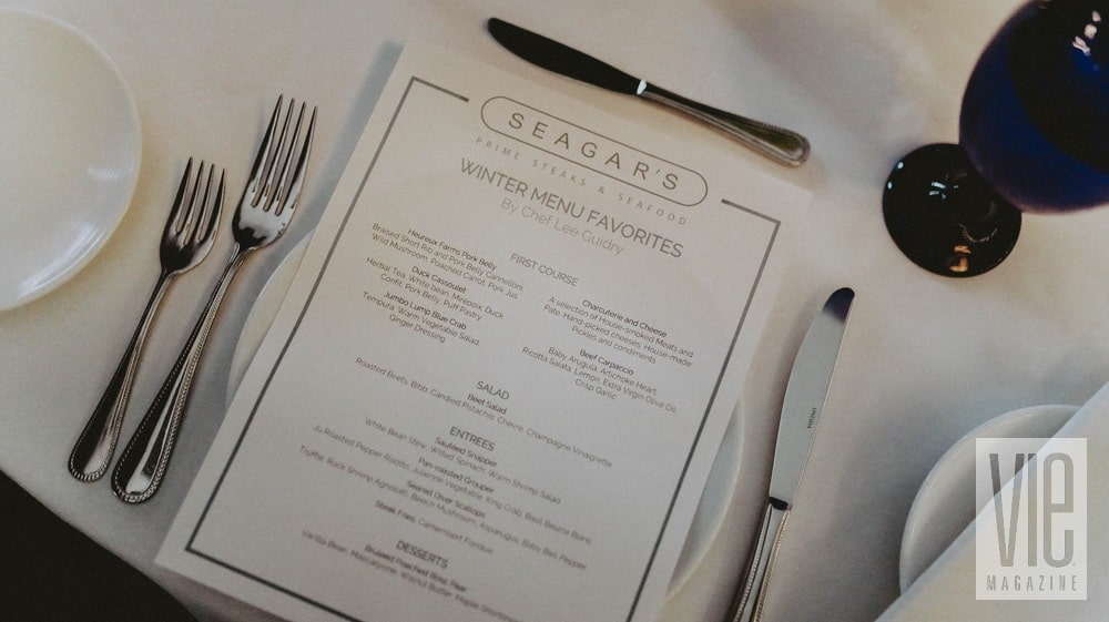 Seagar's Prime Steaks & Seafood at the Hilton Sandestin Beach Golf Resort & Spa