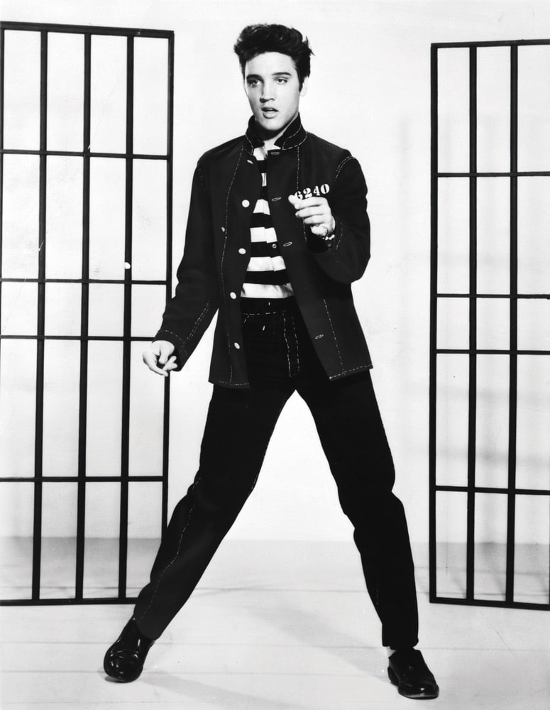 Elvis Presley in Jailhouse Rock (Metro-Goldwyn-Mayer, 1957)