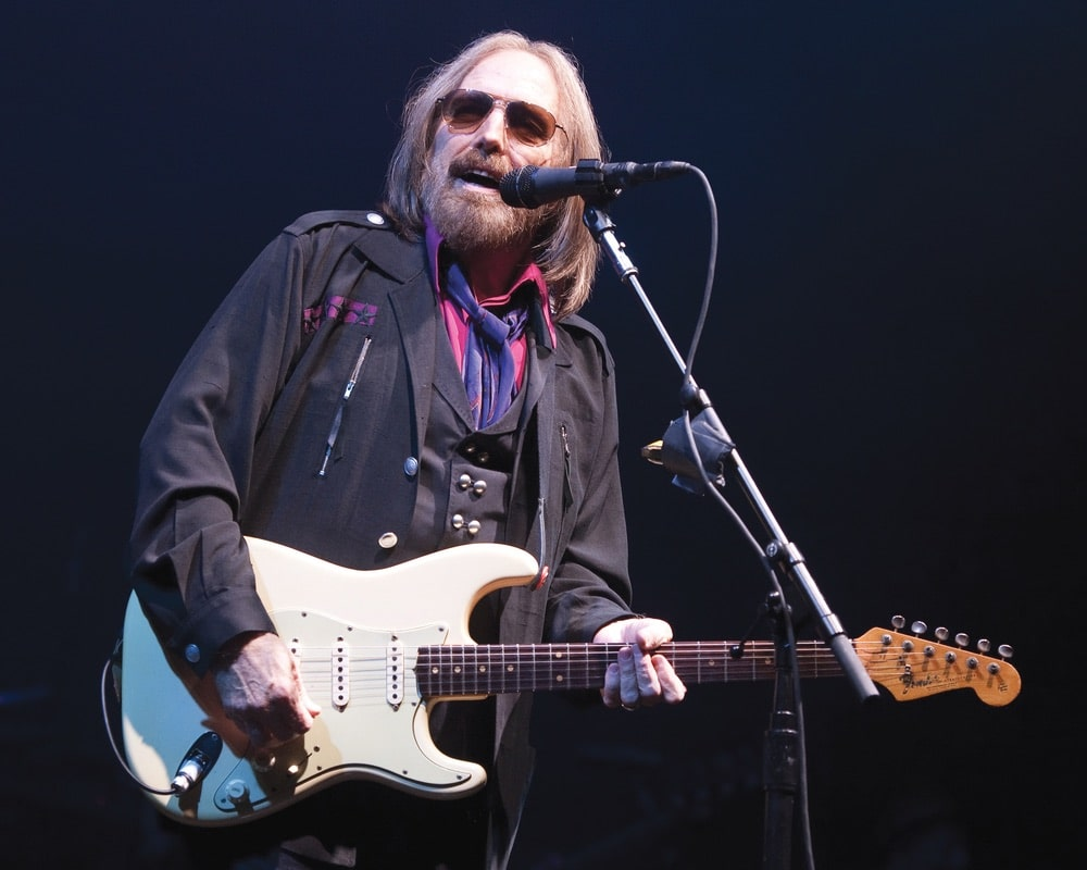 Tom Petty performing in Pittsburgh, 2017