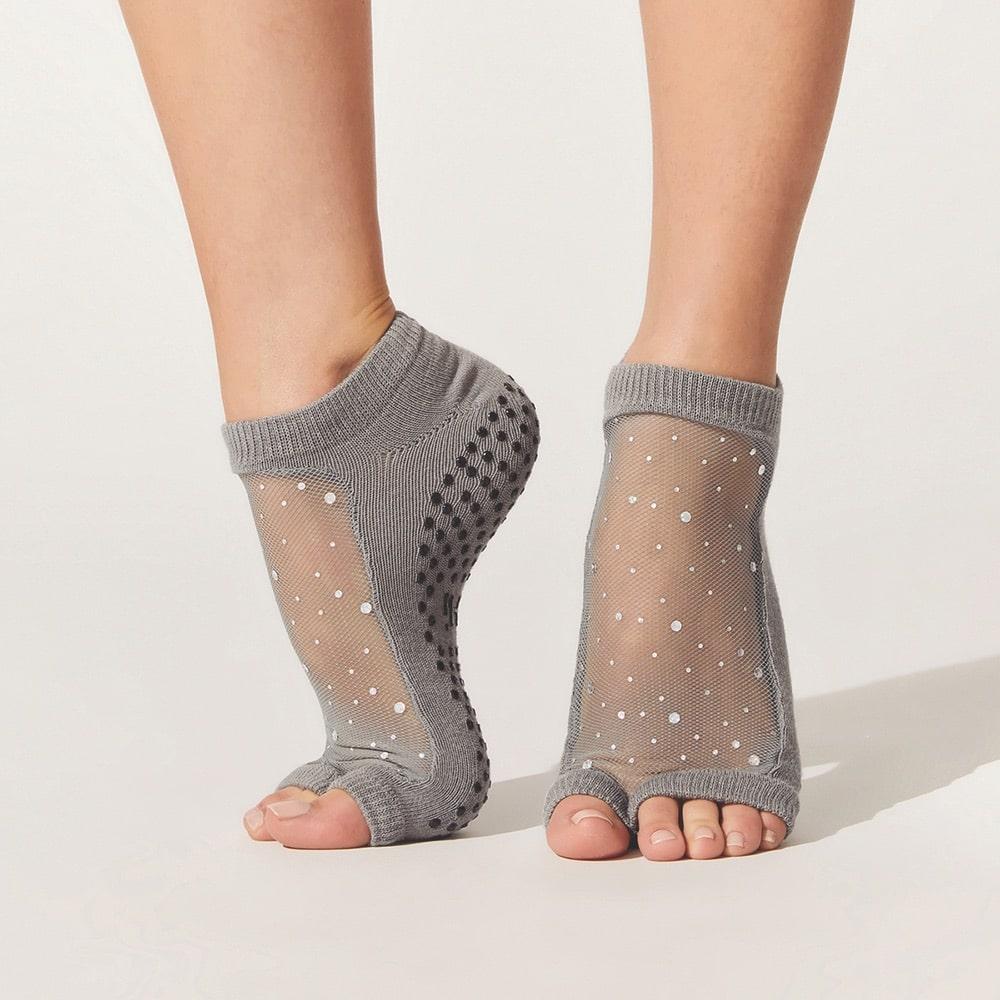 Carbon38 SHASHI Star Open-Toe Socks