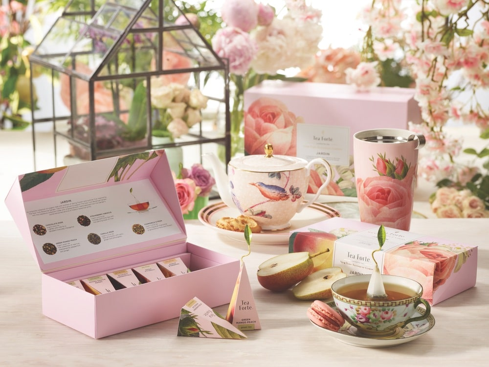Tea Forté Limited-Edition Jardin Collection