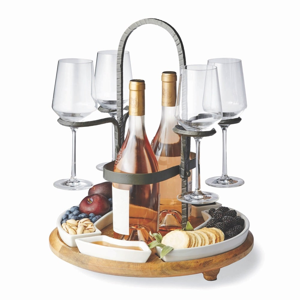 Frontgate Weston Wine Caddy