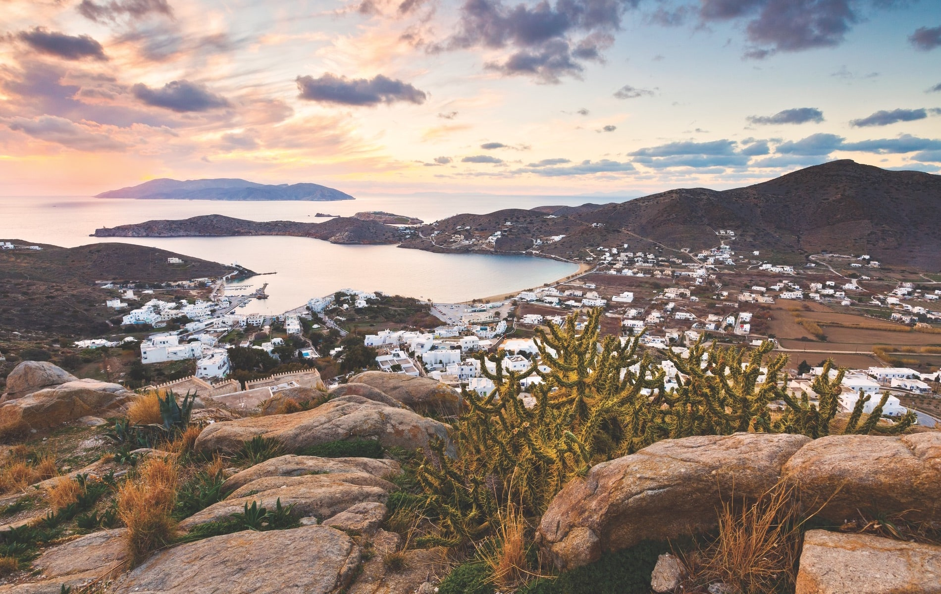 The small Greek island of Ios is home to not only scenic, off-the-beaten-track travel destinations but also a family's effort to save the country's ancient olive trees.