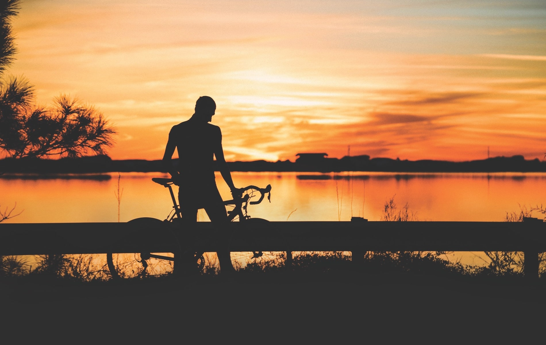 Fit For Hope athlete Jake Vermillion trains for a one-hundred-mile ride to raise money for the fight against human trafficking. | Photo by Hannah Vermillion