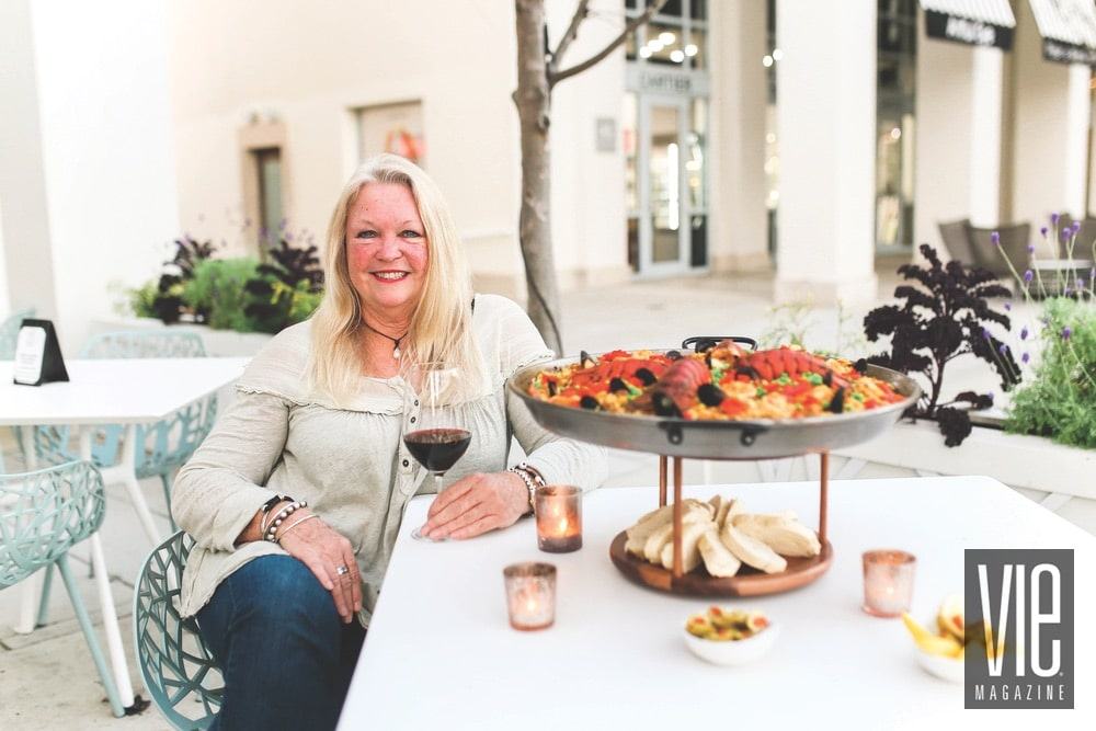 Joyce Russell, Paella Queen, 45 Central, Brenna Kneiss Photo Co.
