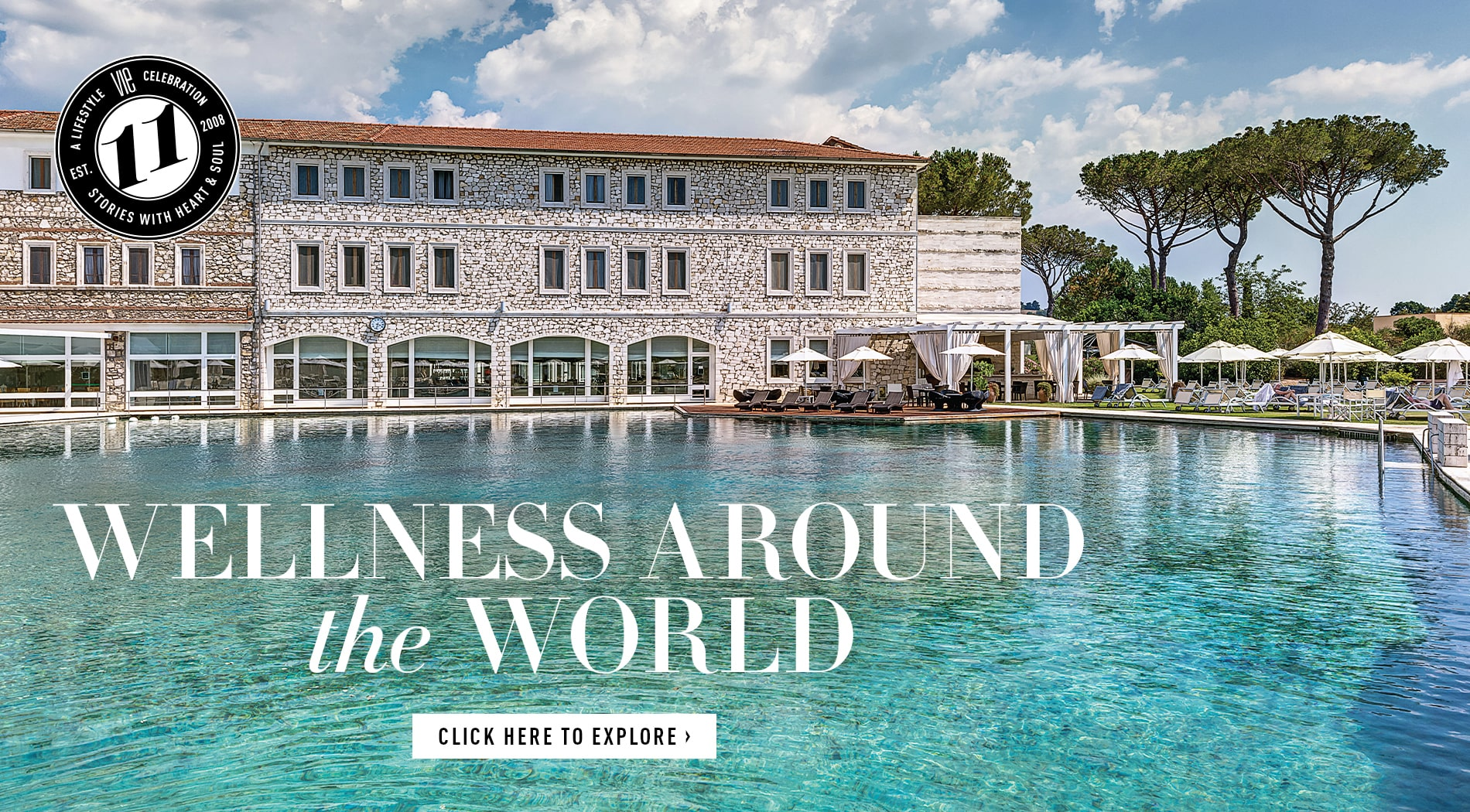 VIE Magazine - April 2019 - The Health & Wellness Issue - Top Spas in Europe