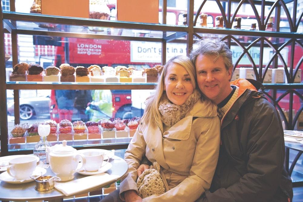 Lisa Burwell, Gerald Burwell, Cafe Royal, London