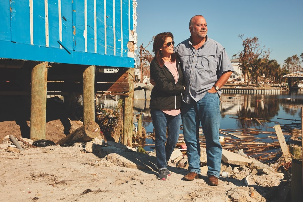 Melba and Nate Odum, co-owners of Mexico Beach Marina, plan to rebuild their business and help their community recover in the wake of Hurricane Michael.
