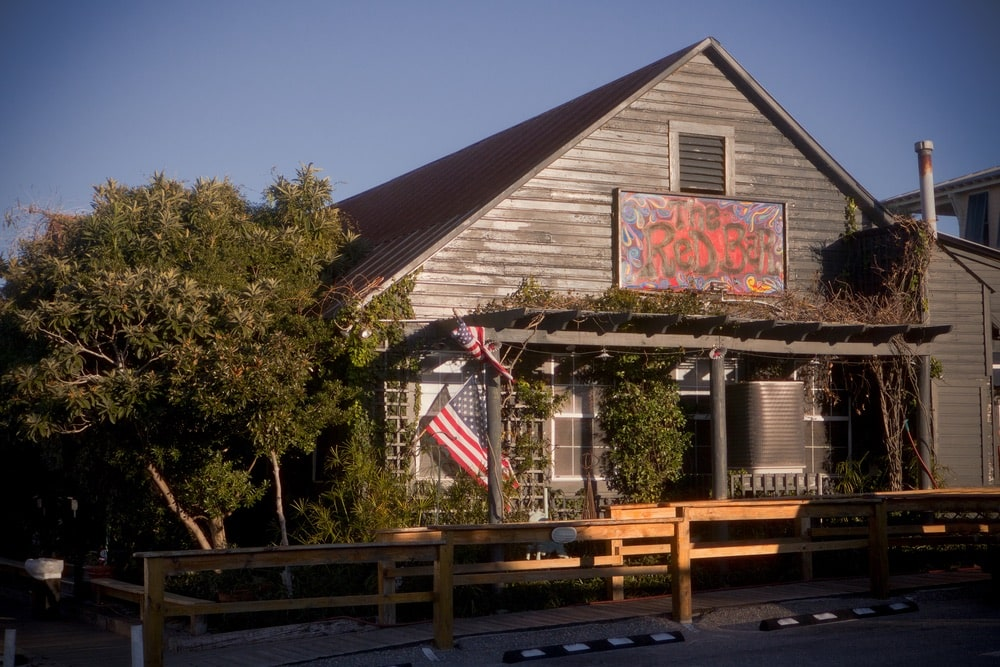 The Red Bar and Piccolo Restaurant in Grayton Beach, Florida, Oli Petit