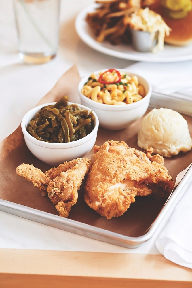 Fried chicken meal at Woolworth on 5th | Photo by Danielle Atkins