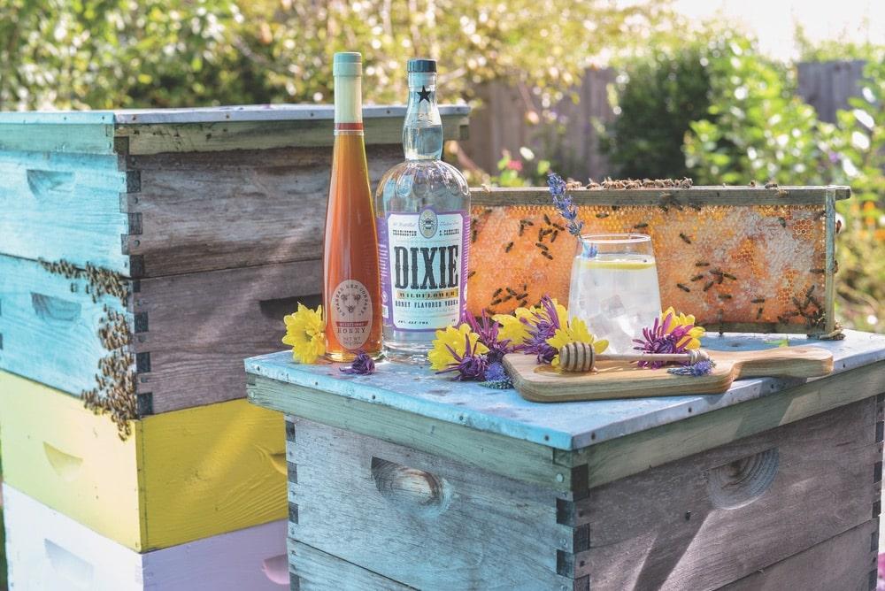 Honey Lavender Lemonade cocktail recipe by Dixie Vodka
