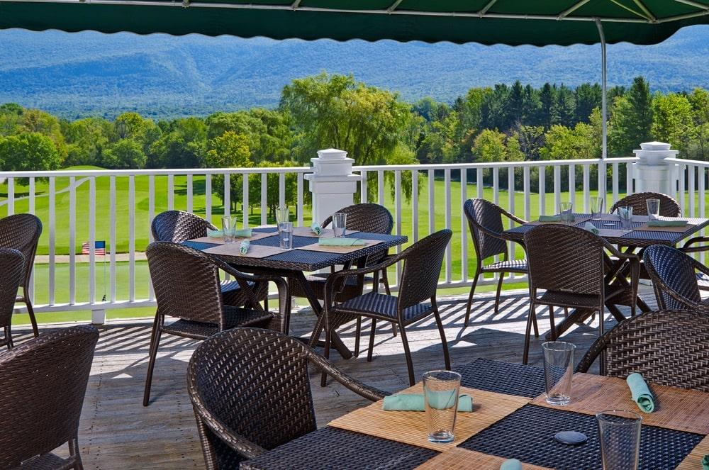 The Golf Club at Equinox in Vermont's Green Mountains