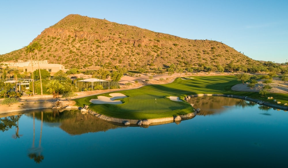 The Phoenician Golf Club's recent renovations and beautiful resort surroundings make it a great destination for a girls' trip or couple's getaway. | Photo courtesy of Luxury Collection