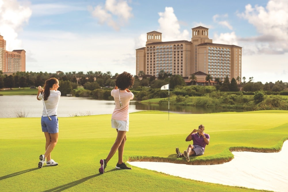 The Ritz-Carlton Golf Club Orlando, Grande Lakes is a great course for any skill level. Photo courtesy of Ritz-Carlton