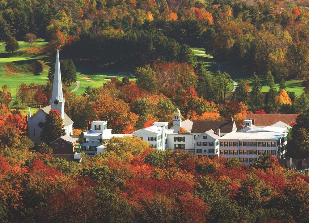 The Golf Club at Equinox in Vermont's Green Mountains. Photo courtesy of Equinox Resort