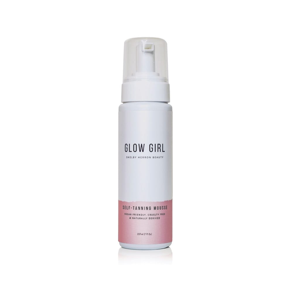 Shelby Herron Glow Girl Self-Tanning Mousse
