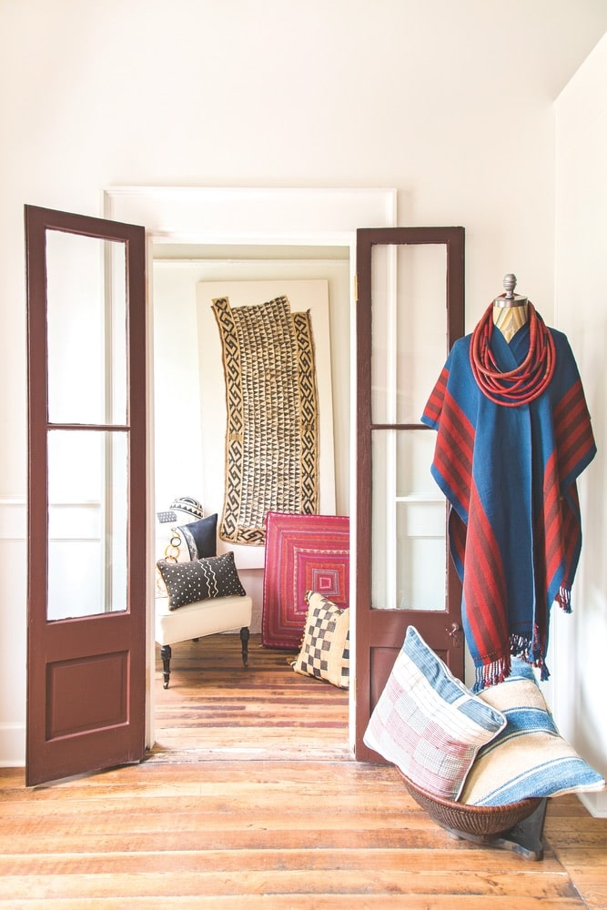 Ibu Movement also carries accessories and home goods, all created by female artisans around the world.