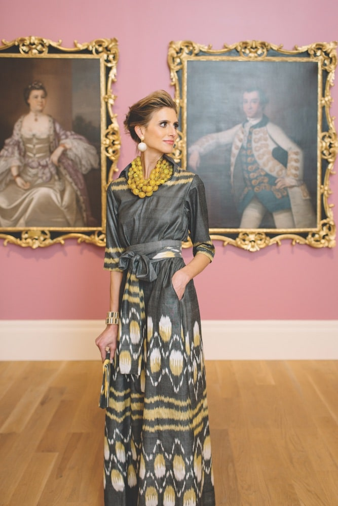 Ibu showed off its latest collection earlier this year with an elegant runway event at the Gibbes Museum of Art in Charleston, South Carolina.