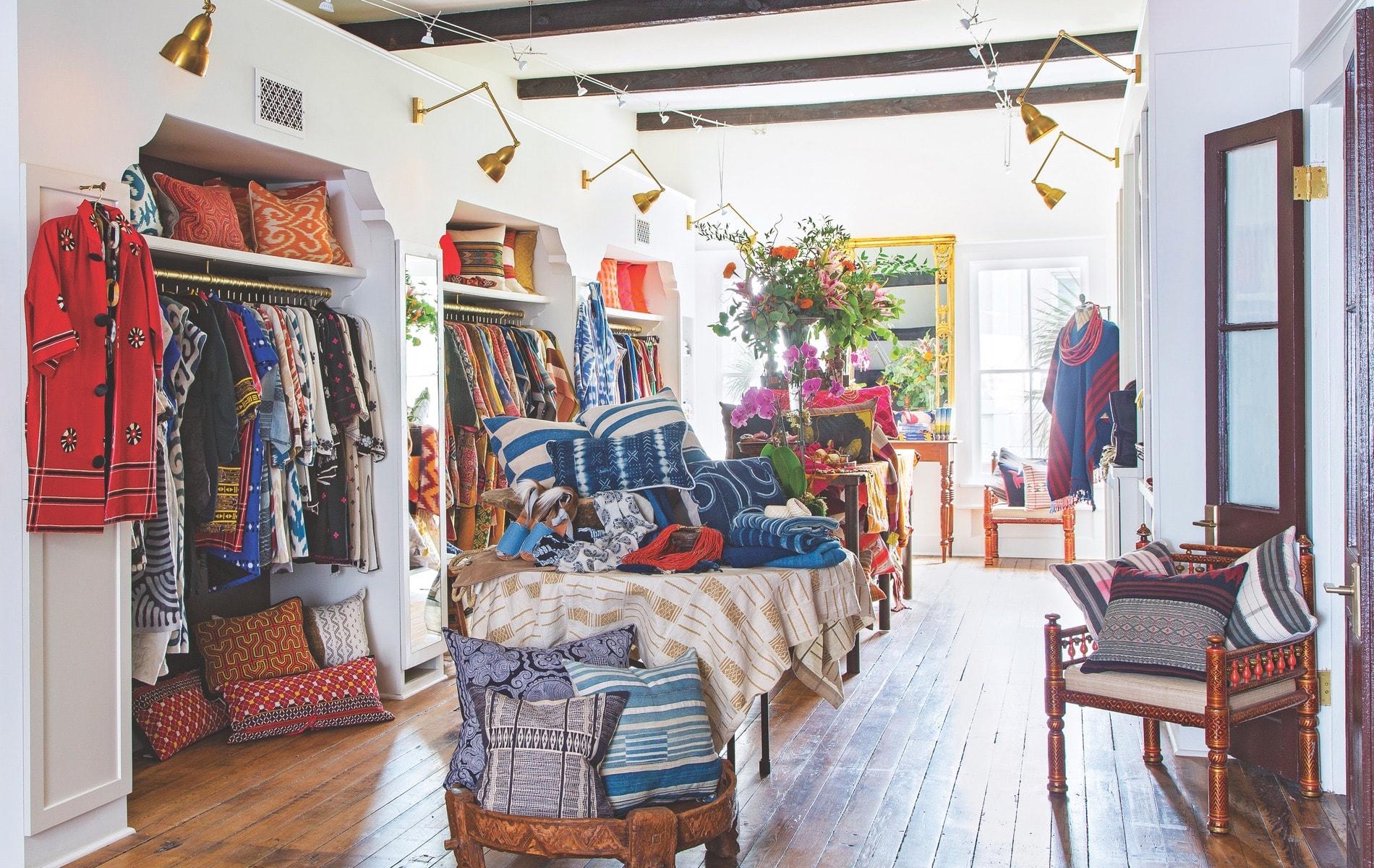 The Ibu Movement flagship store on Charleston's King Street