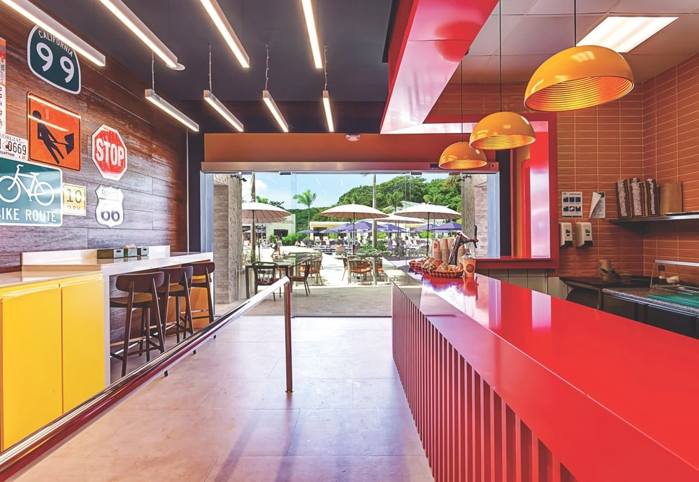 Planet Hollywood Beach Resort Costa Rica, Guy Fieri's burger bar is a hot spot for quick dining with flair.