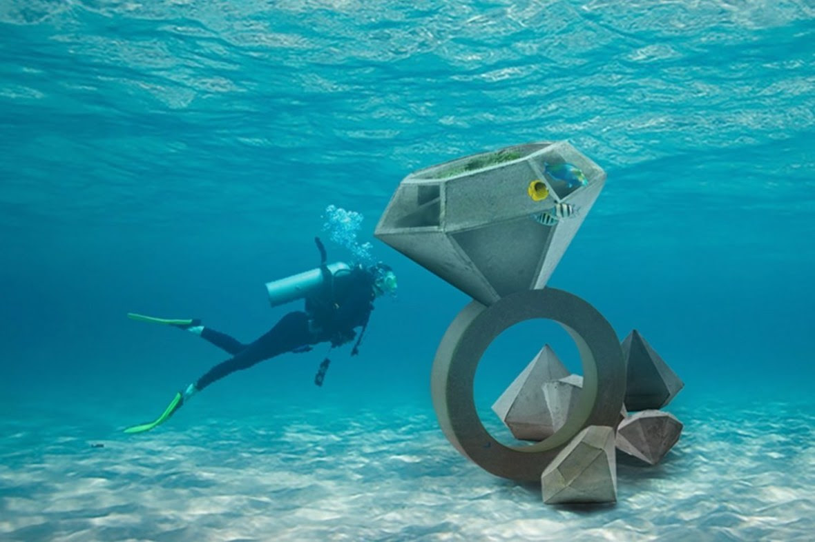 UMA Florida Underwater Museum Event 2019 Ingram Ober Marisol Rendon