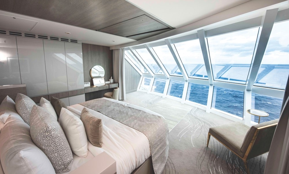 The view from a suite on the Celebrity Edge can't be beat! | Photo courtesy of Celebrity Cruises