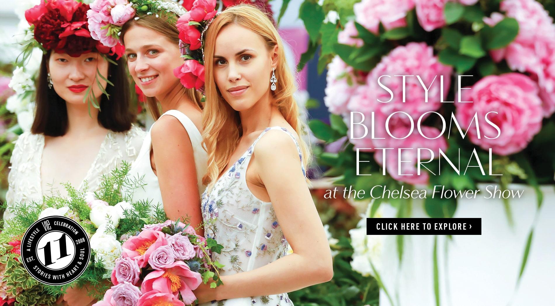 VIE Magazine - June 2019 - Fashion Edit - Chelsea Flower Show