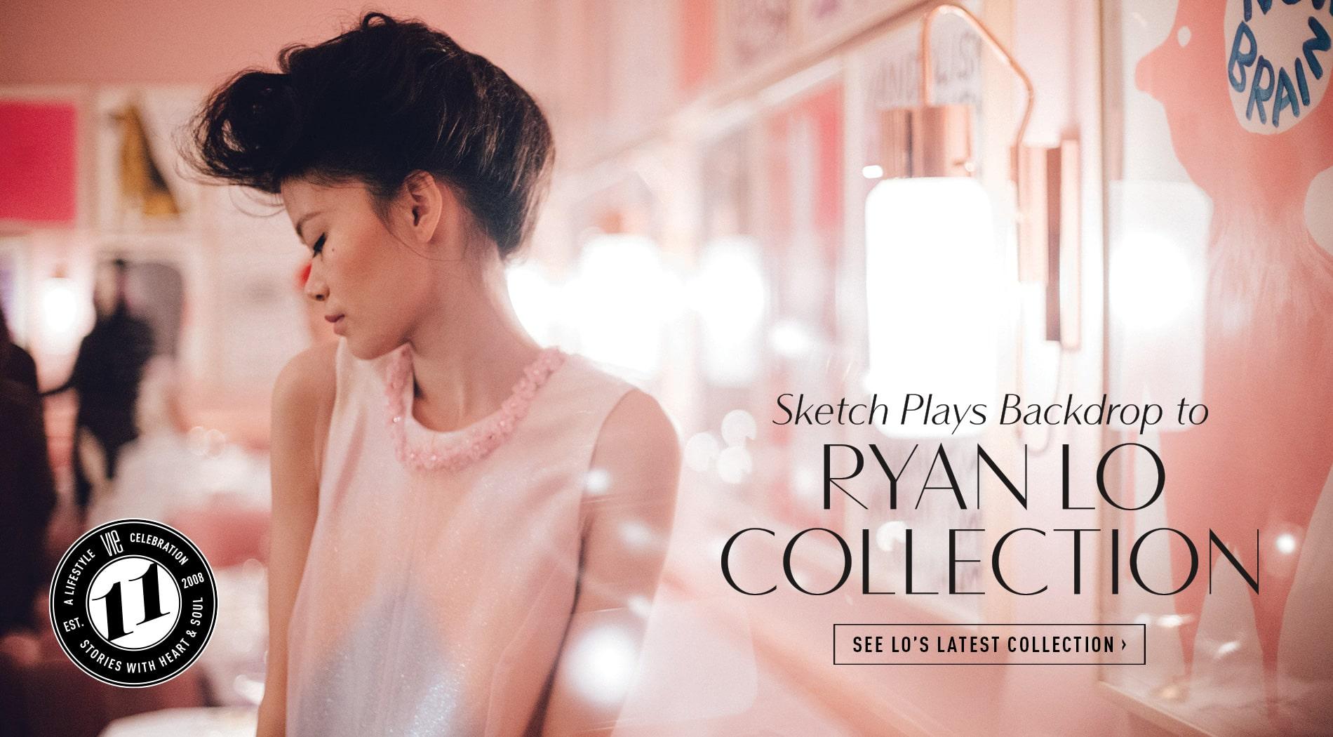 VIE Magazine - June 2019 - Fashion Edit - Sketch London - Ryan Lo Collection
