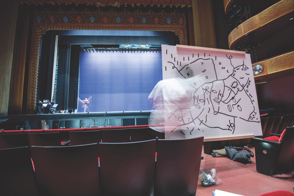 New York City Ballet, NYCB, Shantell Martin, Lincoln Center