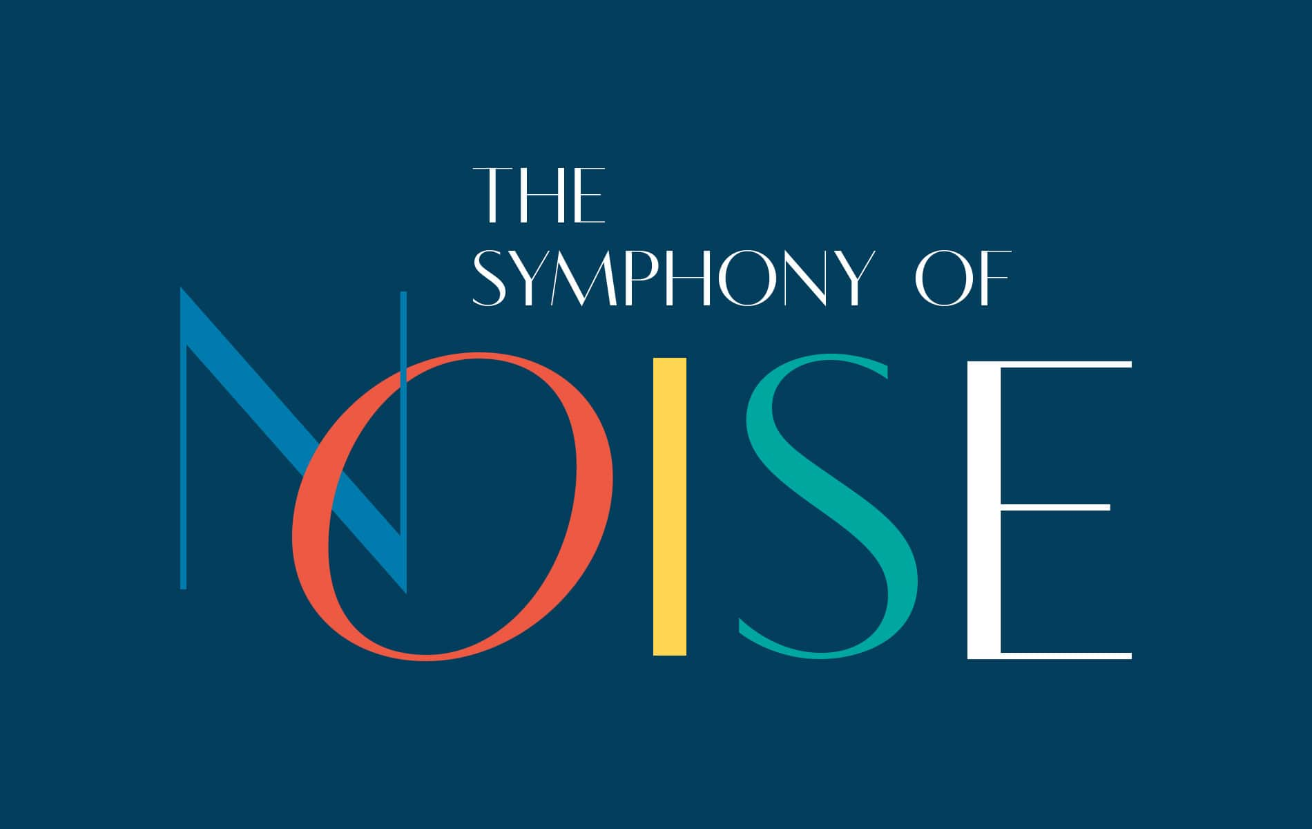 Nicholas S. Racheotes Column July 2019 Art & Artists Issue - The Symphony of Noise