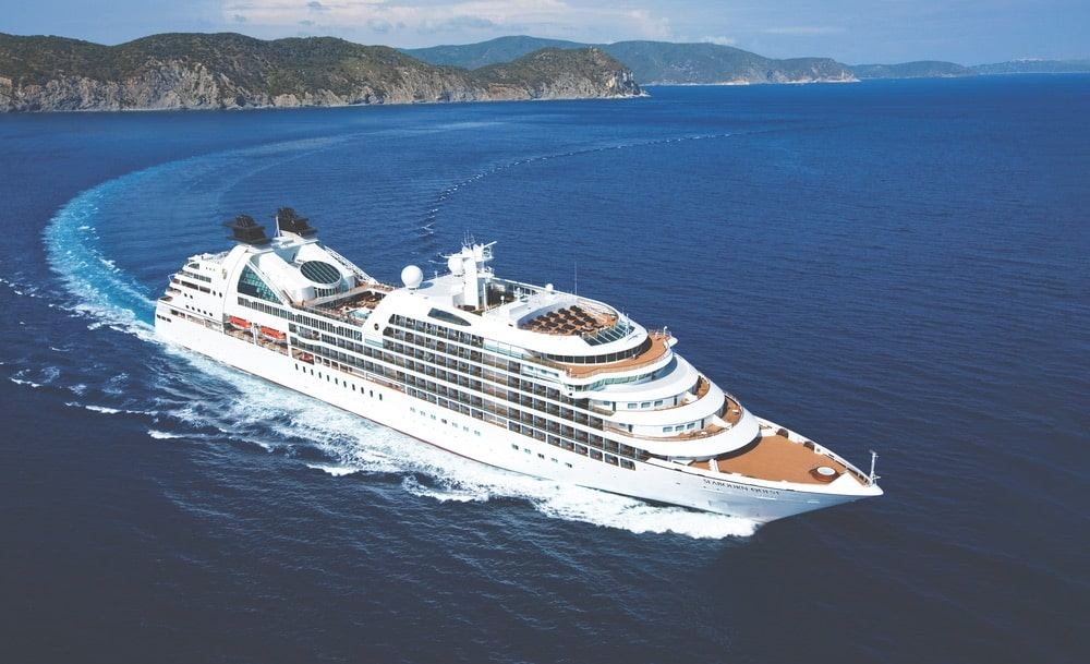 The luxurious Seabourn Quest currently offers 2019 cruises to New England and Canada as well as the US Eastern Seaboard, Iceland, England, Ireland, Scandinavia, South America, and Antarctica. | Photo courtesy of Seabourn