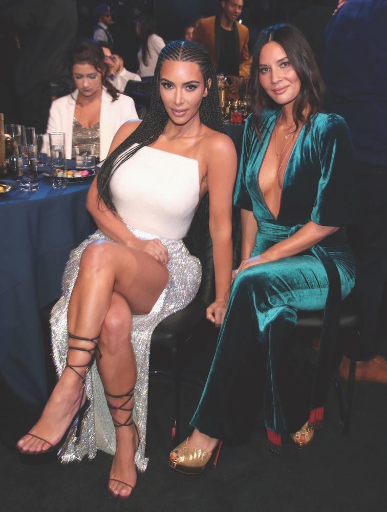 2018 MTV Movie & TV Awards, MTV, Barker Hangar, Santa Monica, California, Getty Images, Kim Kardashian, Kim Kardashian West, Olivia Munn