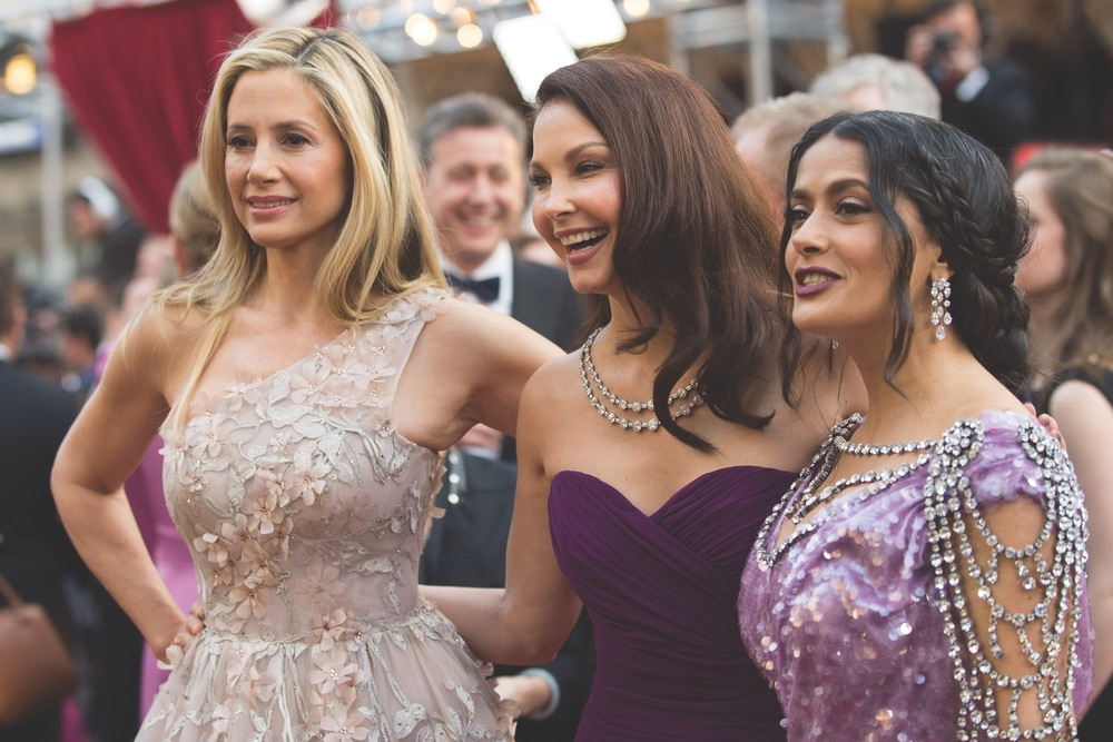 Academy Awards 2018, Academy Awards, 90th Academy Awards, The Oscars, Academy of Motion Picture Arts and Sciences, Dolby Theatre, Mira Sorvino, Ashley Judd, Salma Hayek