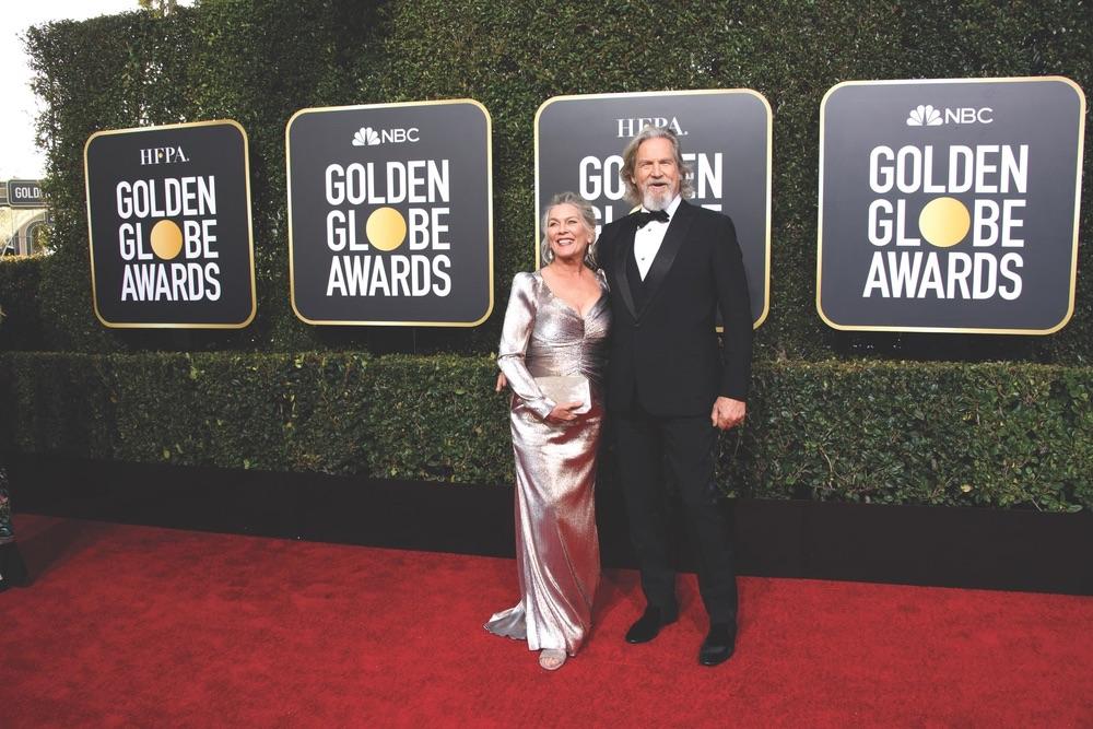 76th Golden Globe Awards, Beverly Hilton, Beverly Hills, Hollywood Foreign Press Association, red carpet, award season, Golden Globes, Susan Geston, Jeff Bridges