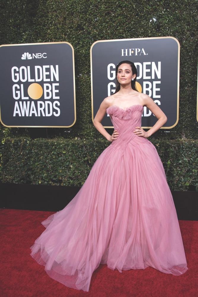 76th Golden Globe Awards, Beverly Hilton, Beverly Hills, Hollywood Foreign Press Association, red carpet, award season, Golden Globes, Emmy Rossum