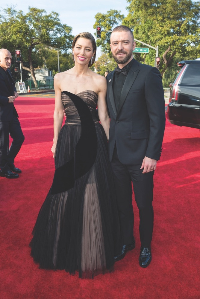 75th Annual Golden Globe Awards, Golden Globe Awards, Beverly Hilton, Beverly Hills, California, Jessica Biel, Justin Timberlake, Hollywood Foreign Press Association