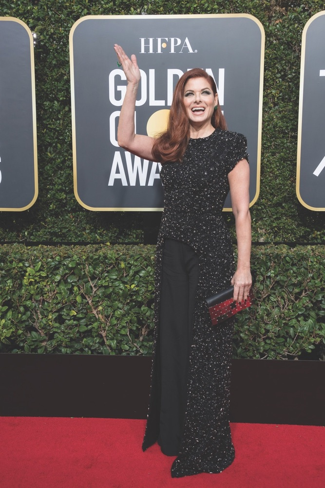 75th Annual Golden Globe Awards, Golden Globe Awards, Beverly Hilton, Beverly Hills, California, Debra Messing, Hollywood Foreign Press Association
