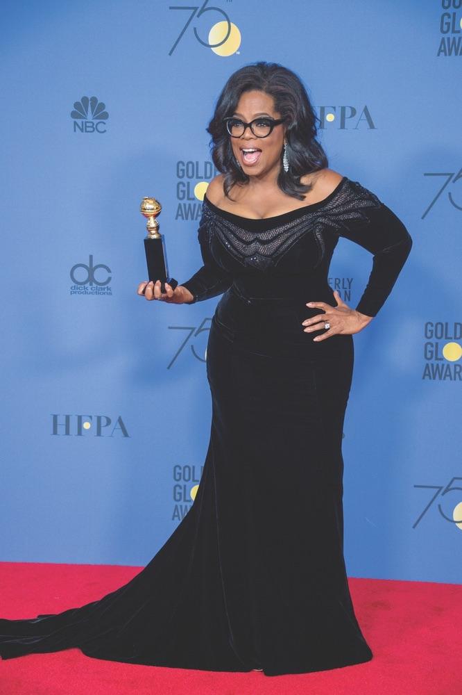 75th Annual Golden Globe Awards, Golden Globe Awards, Beverly Hilton, Beverly Hills, California, Oprah Winfrey, Cecil B. DeMille Award, Hollywood Foreign Press Association
