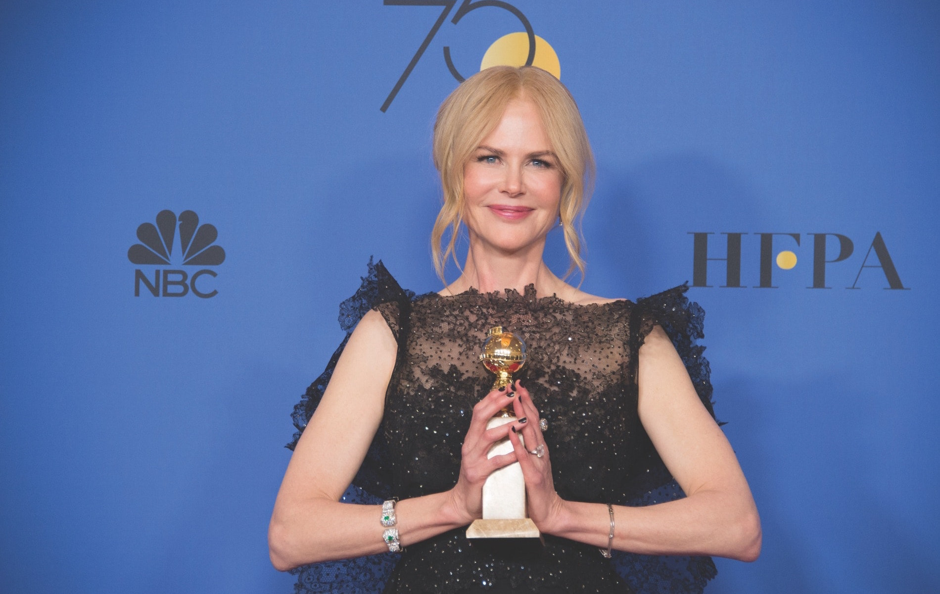 75th Annual Golden Globe Awards, Golden Globe Awards, Beverly Hilton, Beverly Hills, California, Nicole Kidman, Hollywood Foreign Press Association