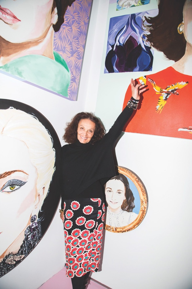 Ashley Longshore, DVF, Diane von Furstenberg