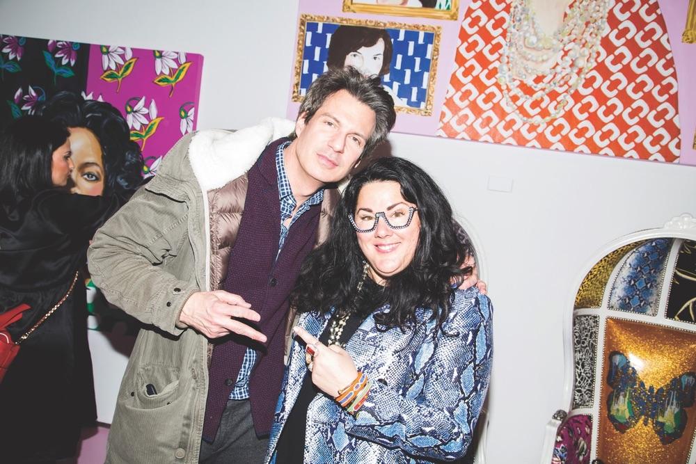 Ashley Longshore, Adam Glassman DVF, Diane von Furstenberg