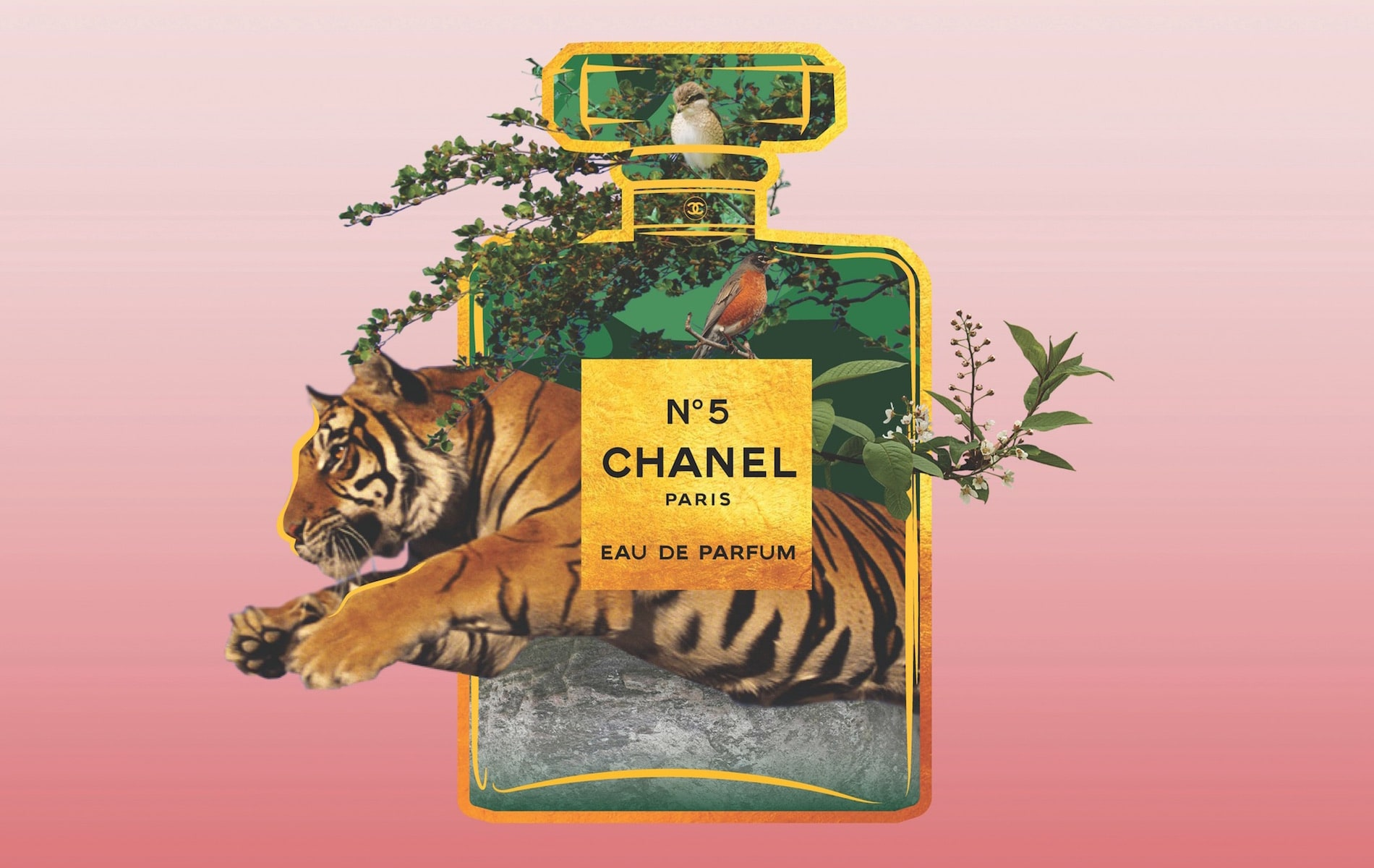 Charles Bentley, Chanel No.5, Au Revoir department page