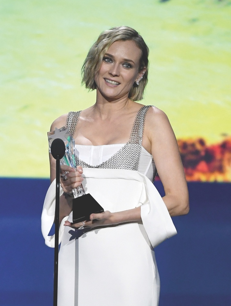 CCA, Arts Culture and Entertainment, celebrities, Fashion, Awards Ceremony, Critics' Choice Awards, Santa Monica, Barker Hangar, 23rd Annual Critics' Choice Awards, California, Getty Images, Diane Kruger, In the Fade