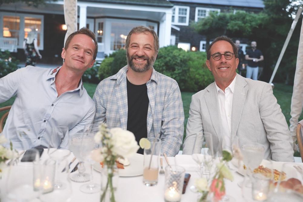 GOOD+ Foundation, GOOD+ Foundation Hamptons Summer Dinner, Neil Patrick Harris, Judd Apatow, Jerry Seinfeld
