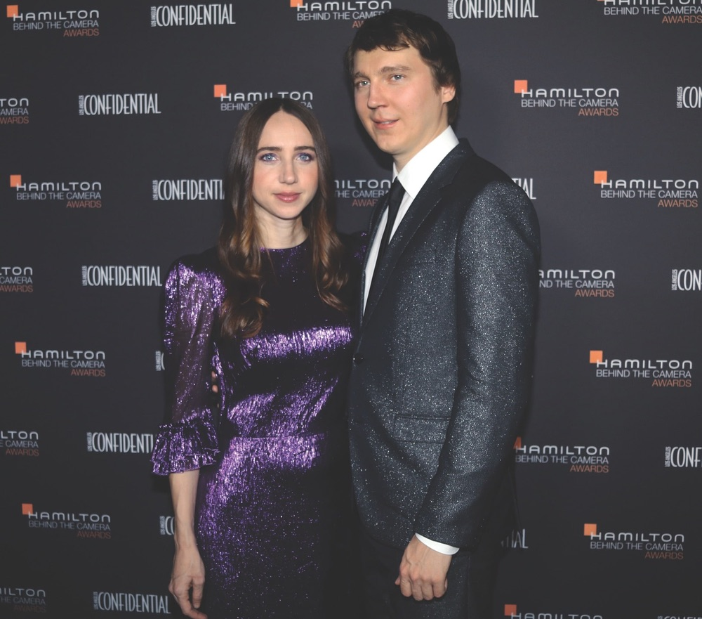 Hamilton Behind the Camera Awards, The Exchange LA, Zoe Kazan, Paul Dano