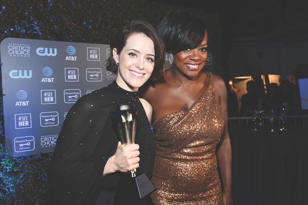 24th Critics' Choice Awards, Barker Hangar, Santa Monica, California, Claire Foy, Viola Davis