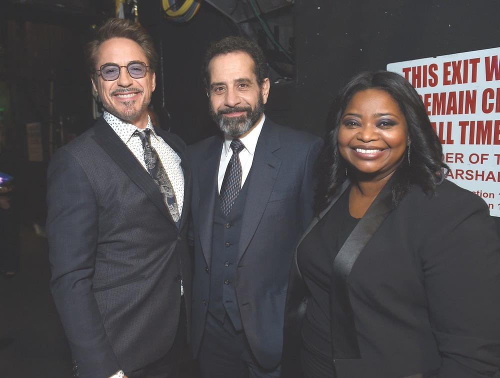 30th Annual Producers Guild Awards, Cadillac, Beverly Hilton, Beverly Hills, Robert Downey Jr., Tony Shalhoub, Octavia Spencer