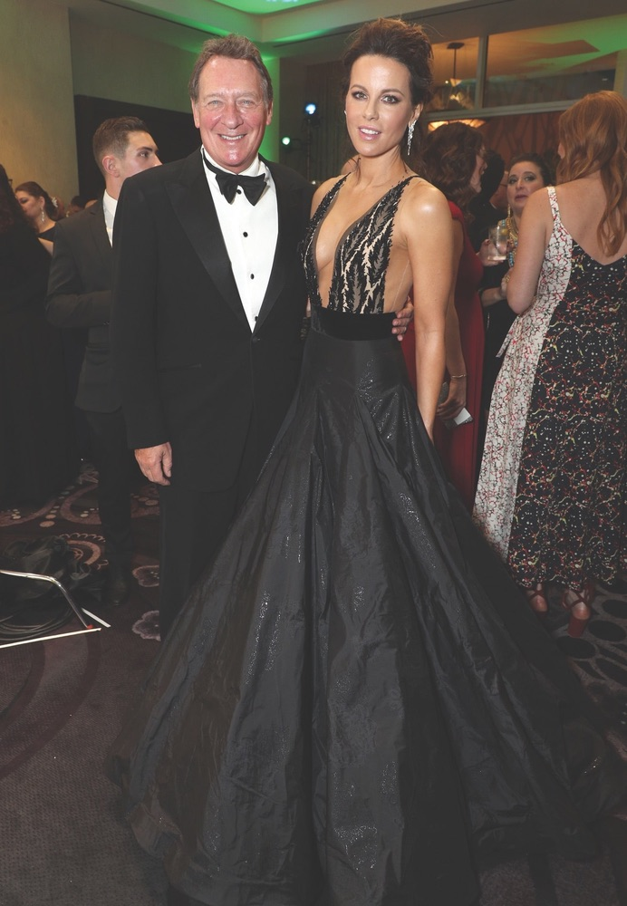 30th Annual Producers Guild Awards, Cadillac, Beverly Hilton, Beverly Hills, Gary Lucchesi, Kate Beckinsale