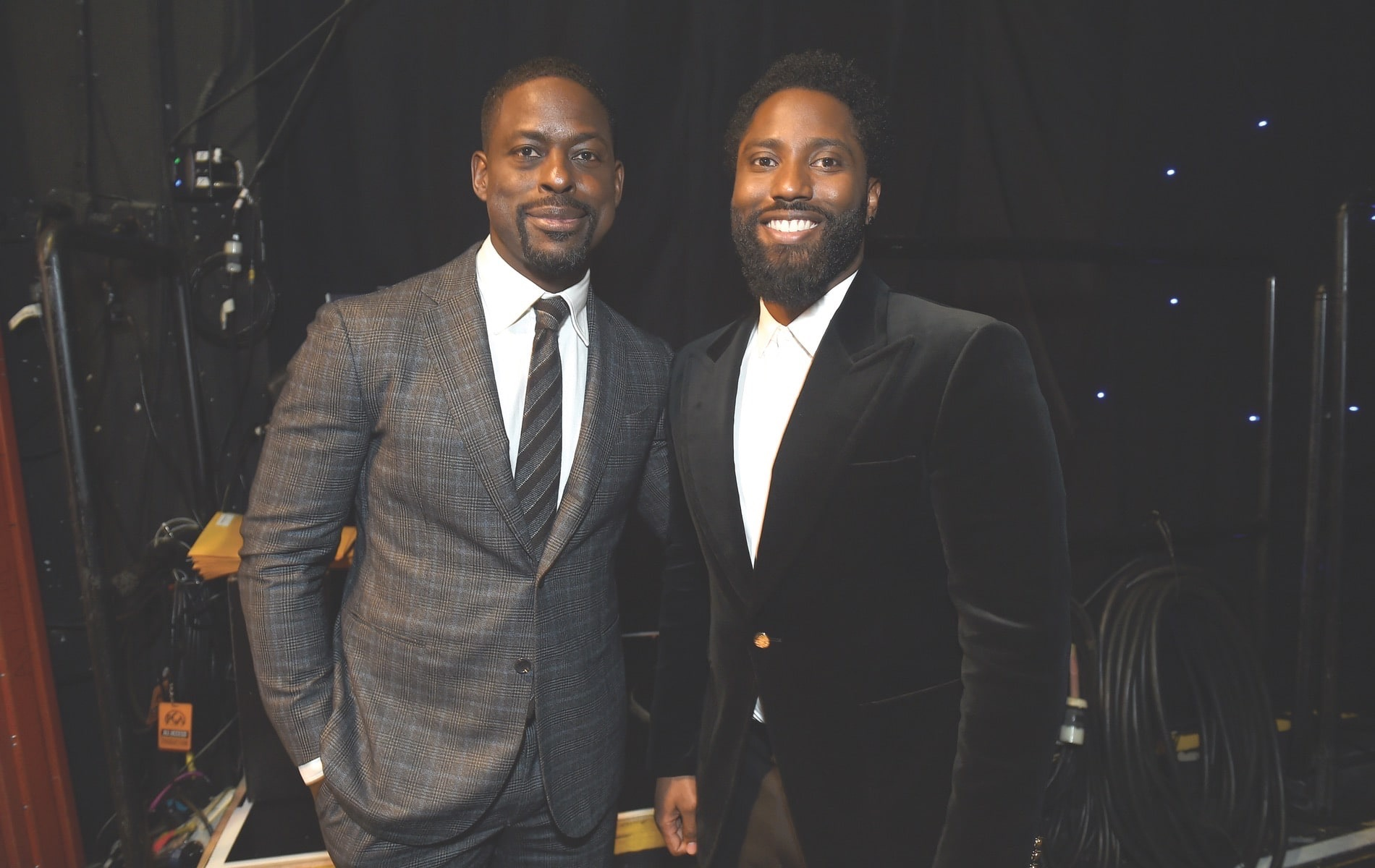 30th Annual Producers Guild Awards, Cadillac, Beverly Hilton, Beverly Hills, Sterling K. Brown, John David Washington