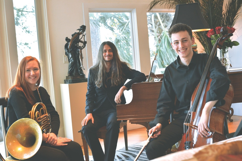 Sinfonia, Sinfonia Gulf Coast, Escape to Create, Hannah Culbreth, Jacob Mason, Sebastian Ortega